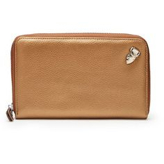 Soho Wallet/Clutch by Mary and Marie via Polyvore featuring bags, handbags, clutches, beige purse, beige clutches and beige handbags