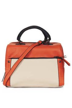 Colour Block Bowler Bag - Bags & Wallets  - Bags & Accessories