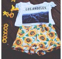 pants all i want summer outfits shirt shorts los angeles street swag cute hipster t-shirt