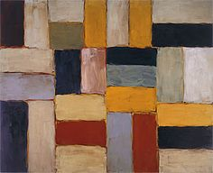 Sean SCULLY Wall of light desert day 2003