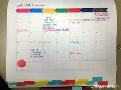 CADgirl design: 2013 Planner and Free Printables