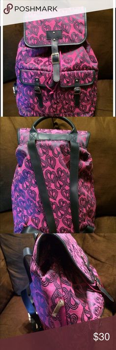 Diane Von Furstenberg Backpack This backpack is in Like New condition. It has 4 pockets: a main big one, two small ones on the front (please see picture 1), and one on the side (please see picture 3). Trying to clear out my closet. 🎉 So make an offer! Diane von Furstenberg Bags Backpacks