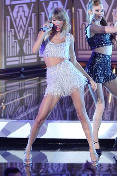 Taylor Swift performs onstage during the 2014 MTV Video Music Awards on Aug. 24, 2014. Getty -Cosmopolitan.com