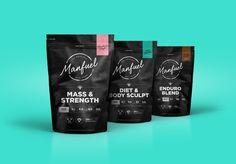 Unique Packaging Design, Manfuel #Packaging #Design