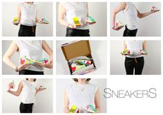 projet photo - sneakers