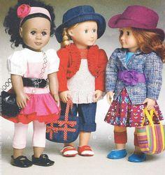 Laura Ashley Doll Clothes for 18 Inch Dolls Like American Girl