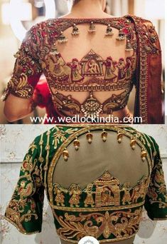 Latest Maggam Work Blouse Designs with Catalogues in India 2019 maggam blouse designs Indian Blouse Designs, Blouse Back Neck Designs, Traditional Blouse Designs, Cutwork Blouse Designs, Fancy Blouse Designs, Bridal Blouse Designs, Saree Blouse Designs, Latest Blouse Designs, Shirt Designs