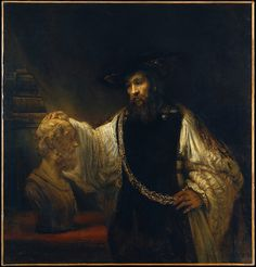 Rembrandt 'Aristotle with a Bust of Homer' 1653 Oil on canvas