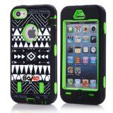 I want this  Apple Iphone 5c Fashion Camo Zebra Combo Print & Aztec Tribal Print Hybrid Armorbox Defender Case Protection Impact Bumper Dual Layer Heavy Duty Case Pc&rubber Silicone Material with Hard Holster (Not Fit Iphone 5 & 5s / Bayke Brand / Screen Protector Not Include) (Aztec Tribal Print)…