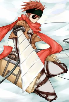 Lavi (D. Gray Man and Attack on Titan crossover)