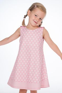 stars Pinafore Dress Pattern, Tunic Dress Patterns, Girls Pinafore Dress, Girls Tunics, Girls Dresses, Summer Dresses, Little Princess, Siena, Cute Kids Fashion