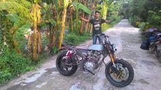 GL 200 CUSTOM By : Garasi Sembilan West Borneo, Indonesia