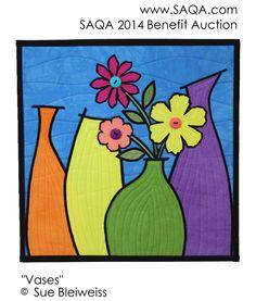 Art quilt by Sue Bleiweiss