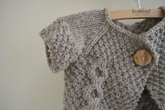 Thread and Ladle: Otto Day Cardigan (Free Knitting Pattern!)