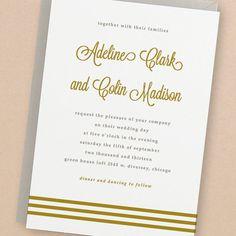Printable Wedding Invitation Template  INSTANT by SwellAndGrand