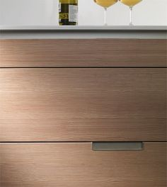 Laricio! for Contrasting White - Kitchen by Spanish brand Santos. Beautiful wood texture.#cultivateit