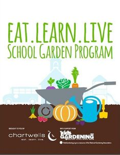 Would you like to start or expand your school garden program? This past year we teamed up with @Chartwells K12 to develop a comprehensive playbook: eat. learn. live. School Garden Program. Help us establish a Garden in Every School®; check out this FREE resource today!