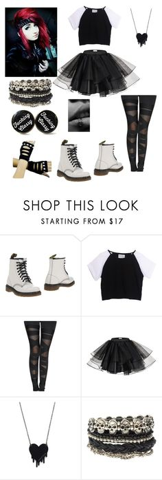 """""""I have no idea"""" by shelbyelizabeth2001 ❤ liked on Polyvore featuring Dr. Martens, Alex and Chloe and ASOS"""