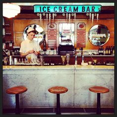 The Ice Cream Bar Soda Fountain in San Francisco, CA