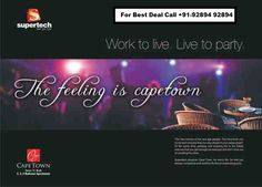 buy flats in noida - supertech cape town