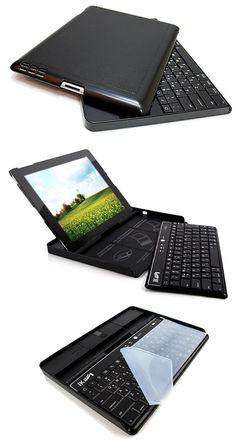 ipad case + bluetooth keyboard