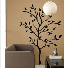 LH575 Livraison gratuite 157*119 cm VIGNE FLEUR arbre Amovible Étanche wall sticker home decor wall art stickers muraux pochoirs