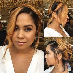 HAIR  MAKEUP INSPIRATION: absolutely loving this boho chic look that radio bae @angelayee of @thebreakfastclub105.1 rocked at Boston Summer Jam today  | hair by @damalifils and makeup by @callhergenna