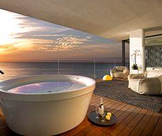 Hard Rock Hotel Ibiza - Luxury Hotel in Playa den Bossa beach, Ibiza, Spain. Hard Rock Hotel Ibiza, Ibiza Hotel, Hotel Suites, Luxury Homes Interior, Interior Exterior, Interior Design, Hotel Winzer, Playa Den Bossa, Boffi