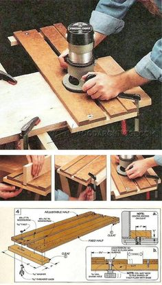 Adjustable Dado Jig Plans - Joinery Tips, Jigs and Techniques| WoodArchivist.com