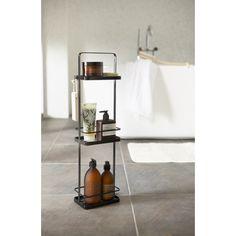 Yamazaki Tower Toiletspullen standaard - Zwart - afbeelding 2