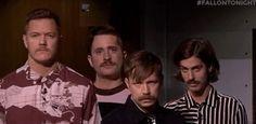 Moustache? Moustache. <<< are those their evil moustache doppelgängers?