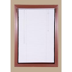 Bali Today White 1 in. Room Darkening Aluminum Mini Blind - 71 in. W x 64 in. L (Actual Size is 70.5 in. W x 64 in. L)