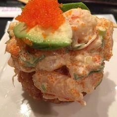 Shibuya - Spicy shrimp on rice cake - Calabasas, CA, United States