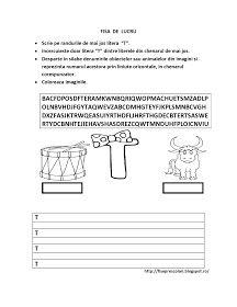 Fise de lucru - gradinita: SET cu FISE de lucru ce cuprinde toate LITERELE alfabetului pentru COPIII de gradinita Math, Words, Blog, Math Resources, Early Math, Horse, Mathematics