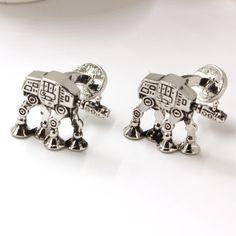 Men Women Unisex Star Wars Silver Cuff Links //Price: $4.99 & FREE Shipping //     #fashionaccessories