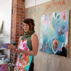 What I Learned at Flora Bowley's Bloom True Workshop