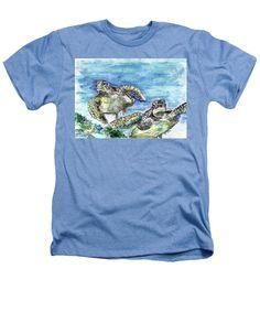 Sea Turtles - Heathers T-Shirt