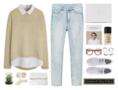 """20150921"" by nut-and-nude ❤ liked on Polyvore featuring Monki, Rut m.fl., Korres, Falke, adidas, NARS Cosmetics and Ballard Designs"