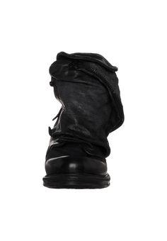A.S.98 - SAINTMETAL - Cowboy/Biker boots - black
