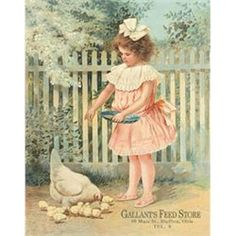 Gallant's Feed Store Tin Sign from My Pet Chicken (I'm so happy I have this sign)