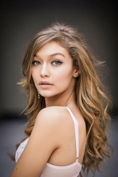 Gigi Hadid backstage at Victorias Secret Fashion Show | Nicole Ricca Bryson