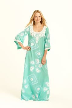 I want to live in caftans.