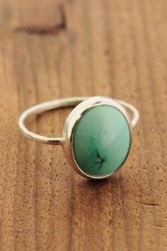 Ring with stone