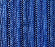 Вязание спицами - ажурные узоры 2