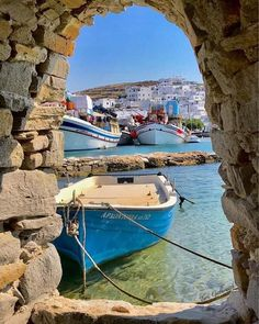 The Secret Greece is a cultural portal showcasing articles for Greece, suggesting destinations, gastronomy, history, experiences and many more. Greece in all Places To Travel, Places To See, Places Around The World, Around The Worlds, Naoussa Paros, Myconos, Paros Island, Ocean Pictures, Greek Isles