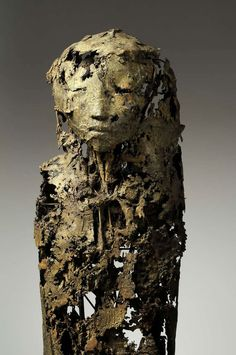 Jeanne Bouchart - Strix - 165 cm - Bronze - Unique Piece - 2009