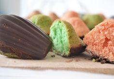 madeleines colorées