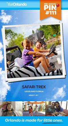 "Safari Trek - Explore the wilds of Africa spotting gorgeous, life-like LEGO animals along the way. Minimum height: 34"" #VisitOrlando #Legoland #Lego #LegolandFlorida #Orlando #Preschool #littleones #travel #familytravel"