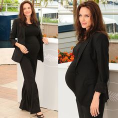 20 Heavily Pregnant Celebrities in High Heels