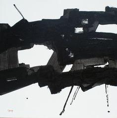 dsc05719.jpg - Peinture,  4x80x80 cm ©2015 par Pierre MORICE -                                                            Art abstrait, Toile, Art abstrait, abstraction